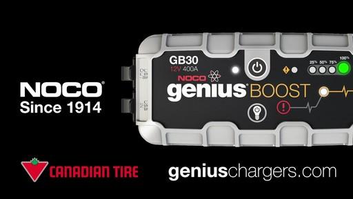Puissance: Démarreur de batterie NOCO Genius Boost - image 10 from the video