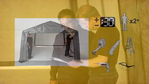 Shelter Logic Nécessaire de porte enroulante Pull-Eaze - image 1 from the video