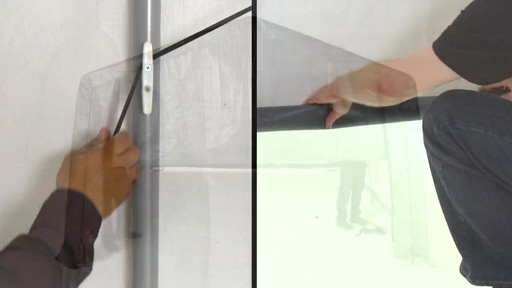 Shelter Logic Nécessaire de porte enroulante Pull-Eaze - image 9 from the video