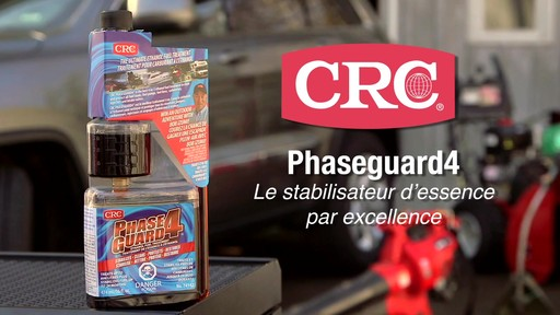 Additif CRC Phase Guard 4, essence à l'éthanol - image 10 from the video
