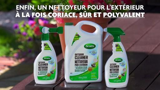 Nettoyant pour l'extérieur Scotts Oxi, prêt à vaporiser - image 10 from the video