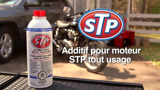 Additif pour moteur STP tout usage - image 1 from the video