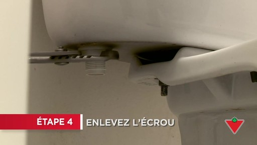 Comment réparer une toilette - image 4 from the video
