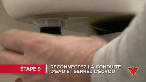 Comment réparer une toilette - image 8 from the video
