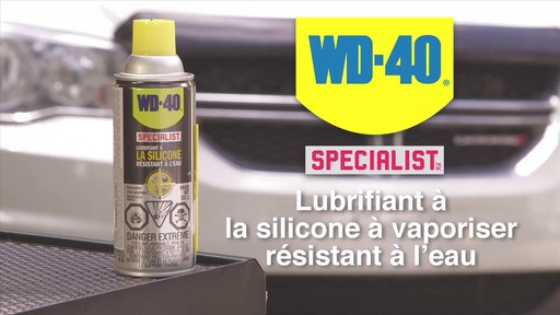 Lubrifiant WD-40 Specialist à la silicone résistant à l'eau - image 10 from the video
