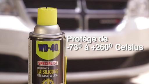 Lubrifiant WD-40 Specialist à la silicone résistant à l'eau - image 9 from the video