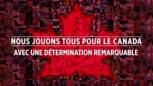 Montage – Une détermination remarquable (Nous jouons tous pour le Canada) - image 1 from the video