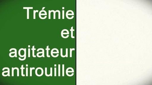 Utilisation d'un épandeur pour la pelouse - image 9 from the video
