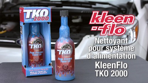 Nettoyant pour système d'alimentation Kleen-Flo TKO 2000 - image 1 from the video
