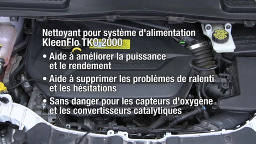 Nettoyant pour système d'alimentation Kleen-Flo TKO 2000 - image 7 from the video