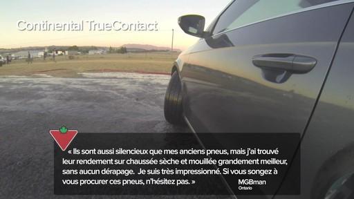 Pneu Continental TrueContactMC – Témoignages de clients - image 1 from the video