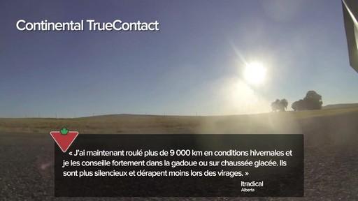 Pneu Continental TrueContactMC – Témoignages de clients - image 3 from the video