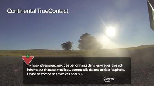 Pneu Continental TrueContactMC – Témoignages de clients - image 5 from the video