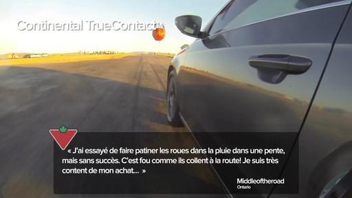 Pneu Continental TrueContactMC – Témoignages de clients - image 6 from the video