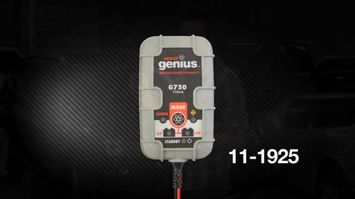 Chargeur de batterie intelligent Noco Genius G750 - image 1 from the video