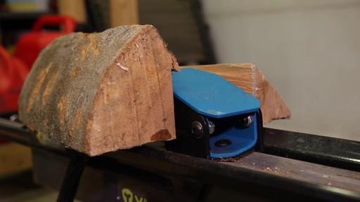 Fendeuse de bûches Yardworks 5 tonnes à pédale-le témoignage de Francis - image 6 from the video