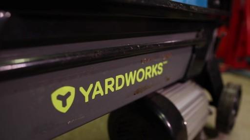 Fendeuse de bûches Yardworks 5 tonnes à pédale-le témoignage de Francis - image 8 from the video
