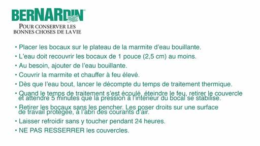 Le traitement thermique - Bernardin - image 6 from the video