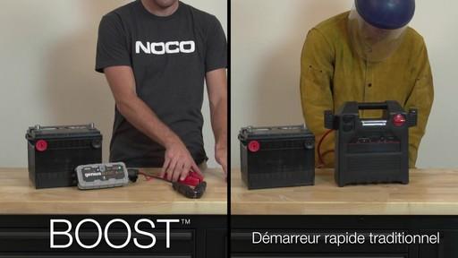 Boost vs Démarreur rapide traditionnel: Démarreur de batterie NOCO Genius GB30 Boost - image 1 from the video