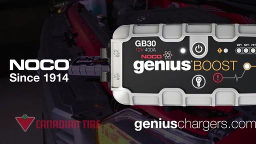 Boost vs Démarreur rapide traditionnel: Démarreur de batterie NOCO Genius GB30 Boost - image 10 from the video