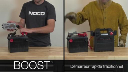 Boost vs Démarreur rapide traditionnel: Démarreur de batterie NOCO Genius GB30 Boost - image 4 from the video