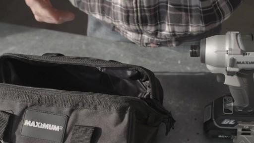 Tournevis à percussion à moteur sans balai MAXIMUM, 20 V- le témoignage de Brandon - image 1 from the video