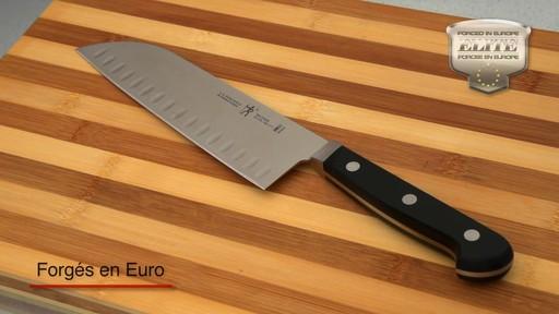 Couteaux forgés Henckels avec bloc, 14 pces - image 3 from the video