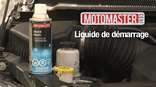 Liquide de démarrage MotoMaster Quick Start - image 1 from the video
