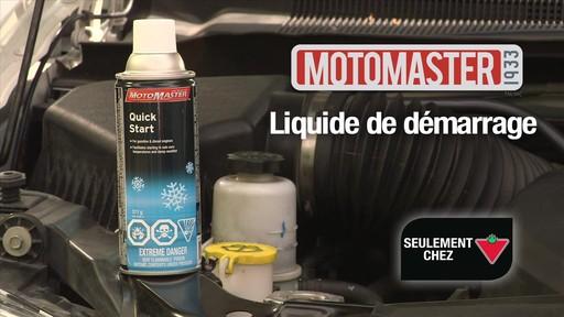 Liquide de démarrage MotoMaster Quick Start - image 10 from the video
