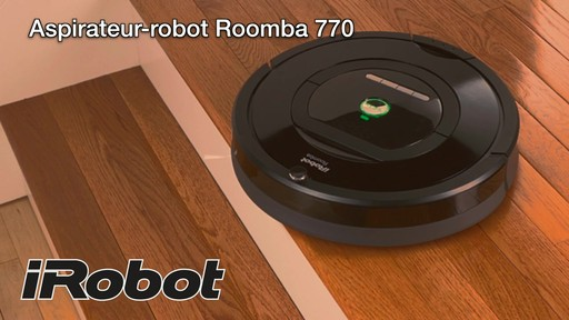 Aspirateur-robot Roomba 770 - image 10 from the video