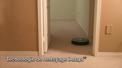 Aspirateur-robot Roomba 770 - image 4 from the video