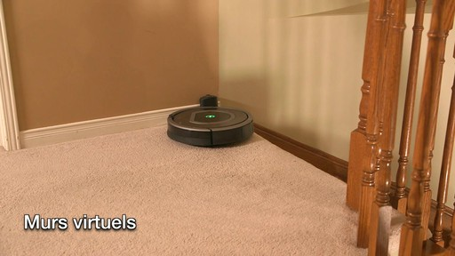 Aspirateur-robot Roomba 770 - image 7 from the video