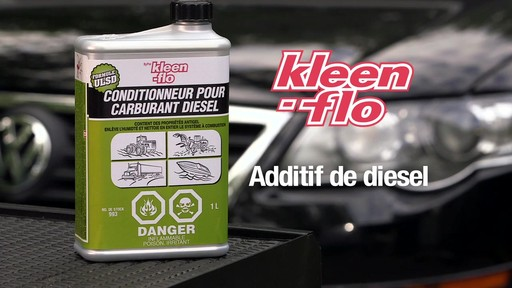 Additif pour diesel Kleen-Flo - image 10 from the video