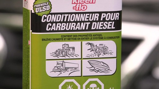 Additif pour diesel Kleen-Flo - image 7 from the video