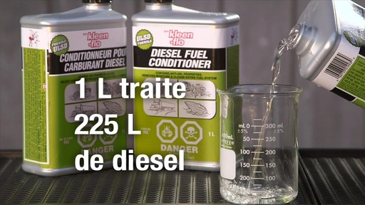 Additif pour diesel Kleen-Flo - image 8 from the video