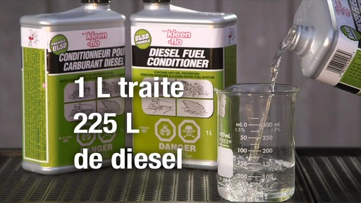 Additif pour diesel Kleen-Flo - image 9 from the video