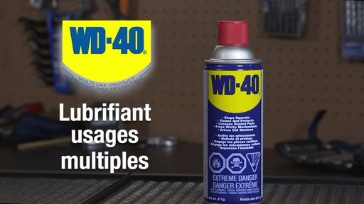 Lubrifiant tout usage WD-40 - image 1 from the video