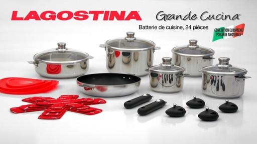 Batterie lagostina grande cucina 24 pces fran ais - Batterie cuisine lagostina ...