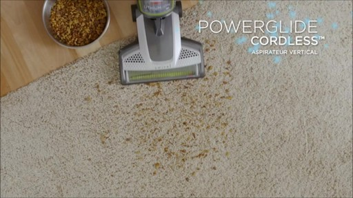 Aspirateur vertical sans fil Bissell Powerglide - image 1 from the video