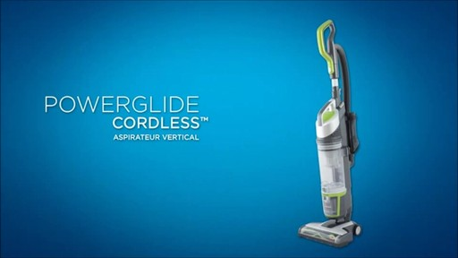 Aspirateur vertical sans fil Bissell Powerglide - image 10 from the video
