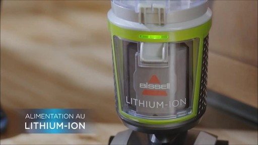 Aspirateur vertical sans fil Bissell Powerglide - image 2 from the video