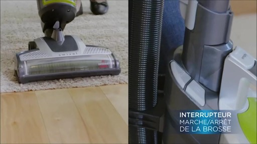 Aspirateur vertical sans fil Bissell Powerglide - image 5 from the video