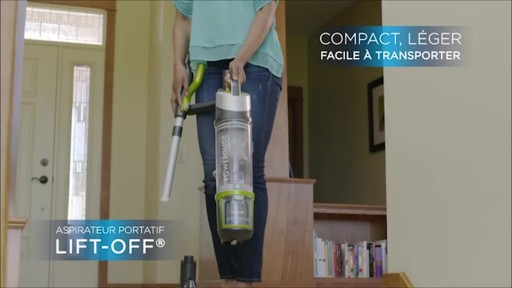 Aspirateur vertical sans fil Bissell Powerglide - image 7 from the video