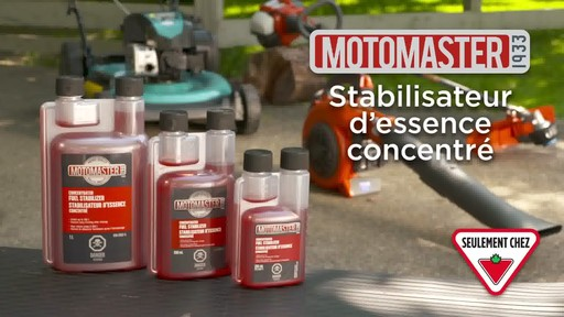 Stabilisateur d'essence MotoMaster - image 10 from the video