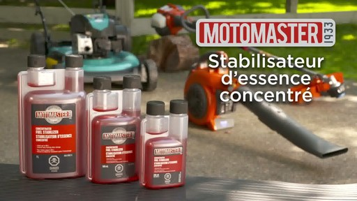Stabilisateur d'essence MotoMaster - image 2 from the video