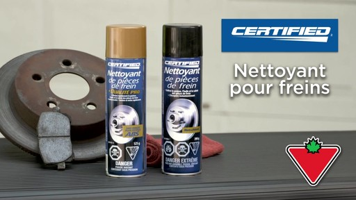 Nettoyant de frein chloré Certified - image 2 from the video