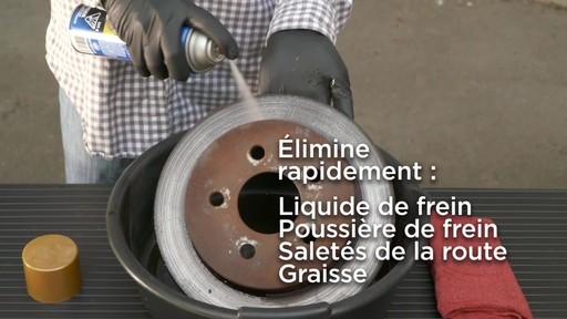 Nettoyant de frein chloré Certified - image 4 from the video