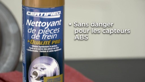Nettoyant de frein chloré Certified - image 8 from the video