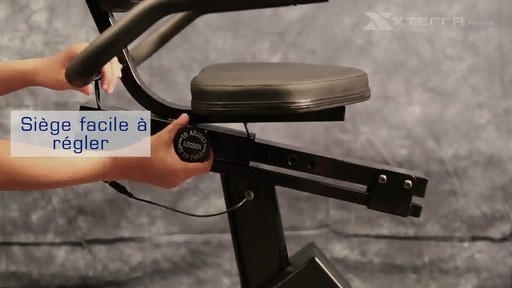 Vélo stationnaire incliné Xterra XT201R - image 9 from the video