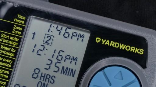 Minuterie d'arrosage Yardworks à 2 zones - image 9 from the video